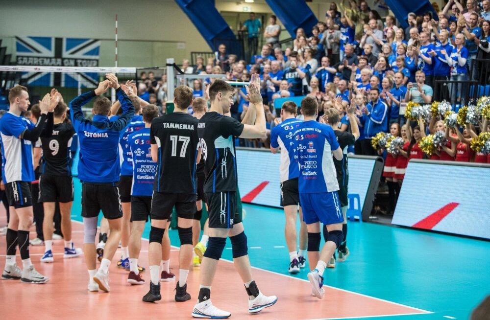 Võrkpall: Eesti vs Ungari