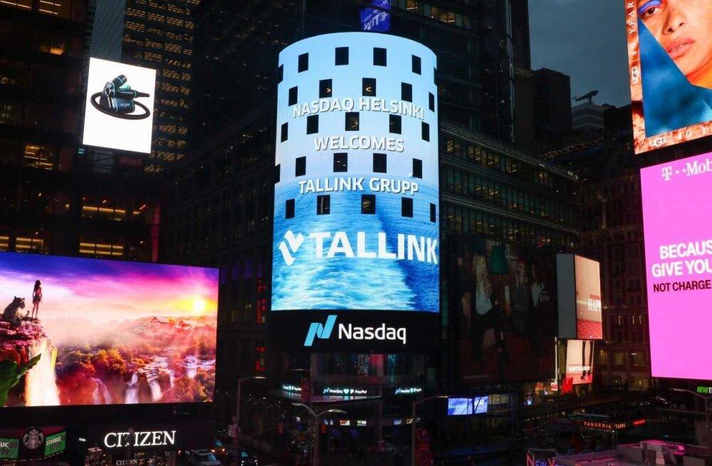 FOTO ja VIDEO | Tallinki aktsiat tervitati Helsingi börsil. T-tähe alt ei maksa aga ettevõtet börsinimekirjast otsida