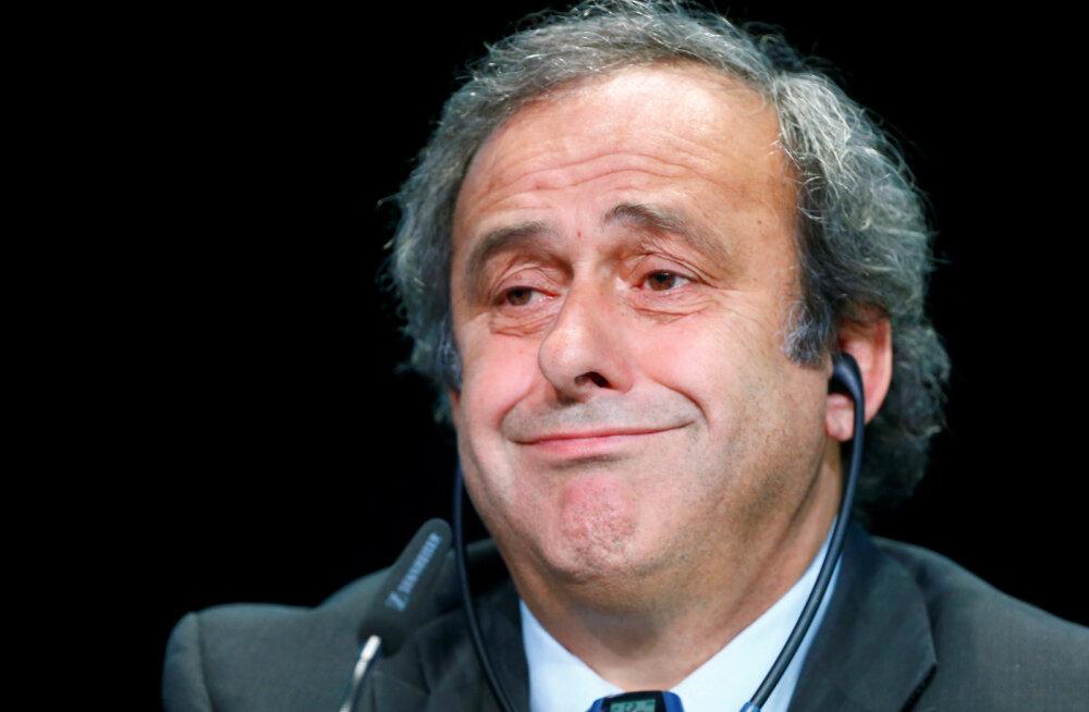 FIFA pöördub Platinilt 1,83 miljoni euro tagasi nõudmiseks kohtusse