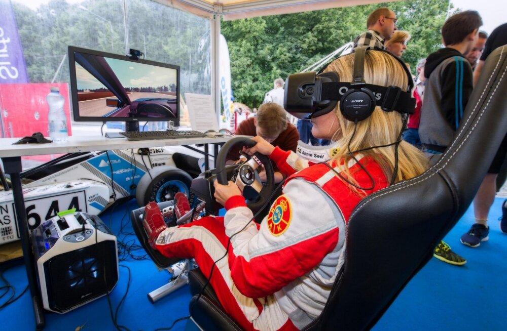 Kes on parim rallisõitja Eesti esimeses virtuaalreaalses mängus?
