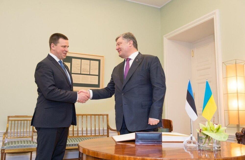После прихода к власти депутаты-центристы стали более дружелюбны по отношению к Украине