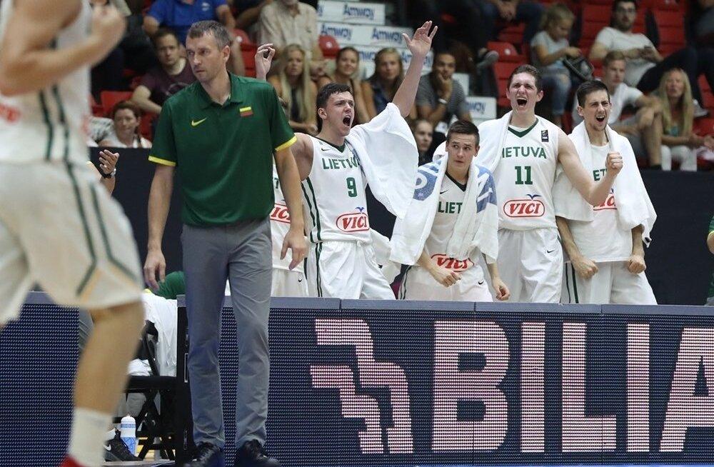 EM-i finaali jõudnud Leedu U20 korvpallikoondis