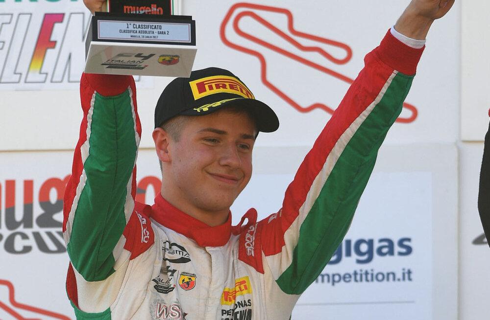 Jüri Vips saavutas esikoha Itaalia F4 etapil!