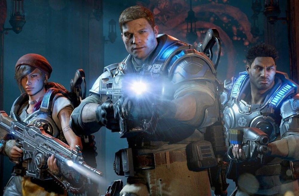"""Microsofti mänguseeria """"Gears of War"""" jõuab suurele ekraanile"""