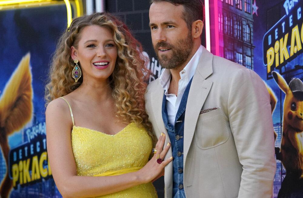 KLÕPS | Ryan Reynolds pühendas kaasa sünnipäevaks omamoodi humoorika postituse
