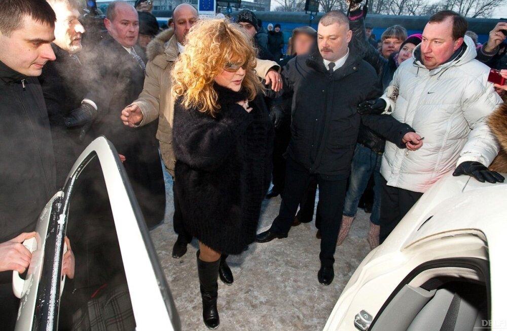 Alla Pugatšova jõudis Eestisse