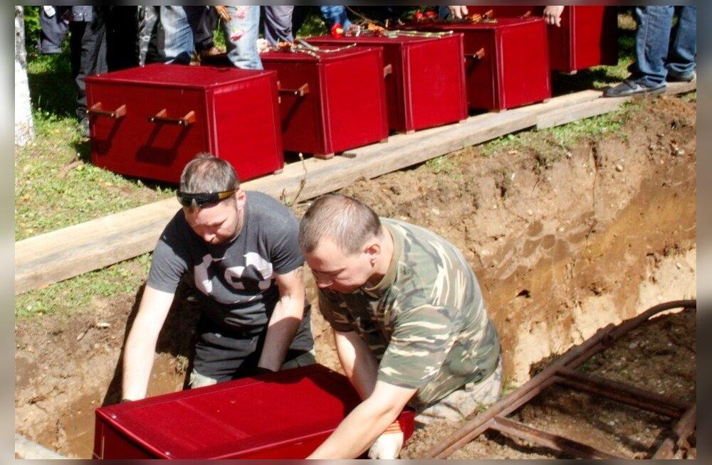 Nõukogude sõdurite ümbermatmine, Sinimäe
