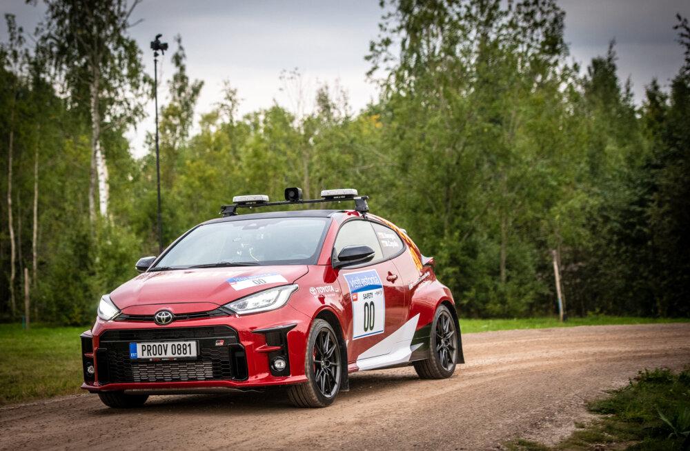 Algas Rally Estonial debüteerinud Toyota GR Yarise tootmine