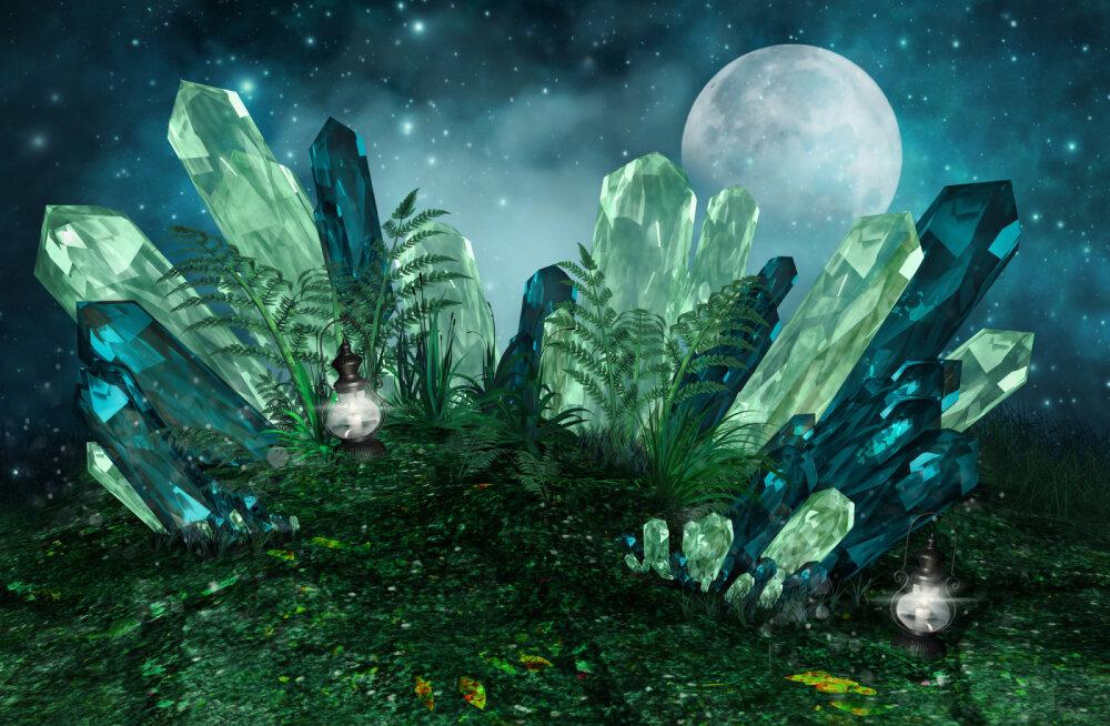 Taevased energiad: võta kristallide abil inglite maailmaga ühendust