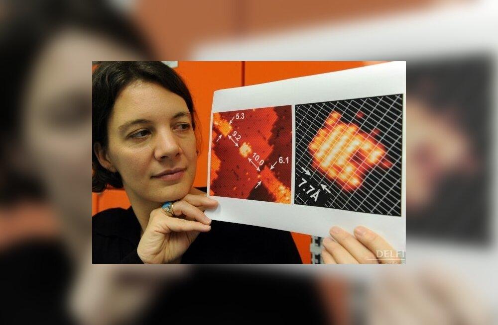Maailma pisim, kvanttransistor. Foto Torsten Blackwood, AFP