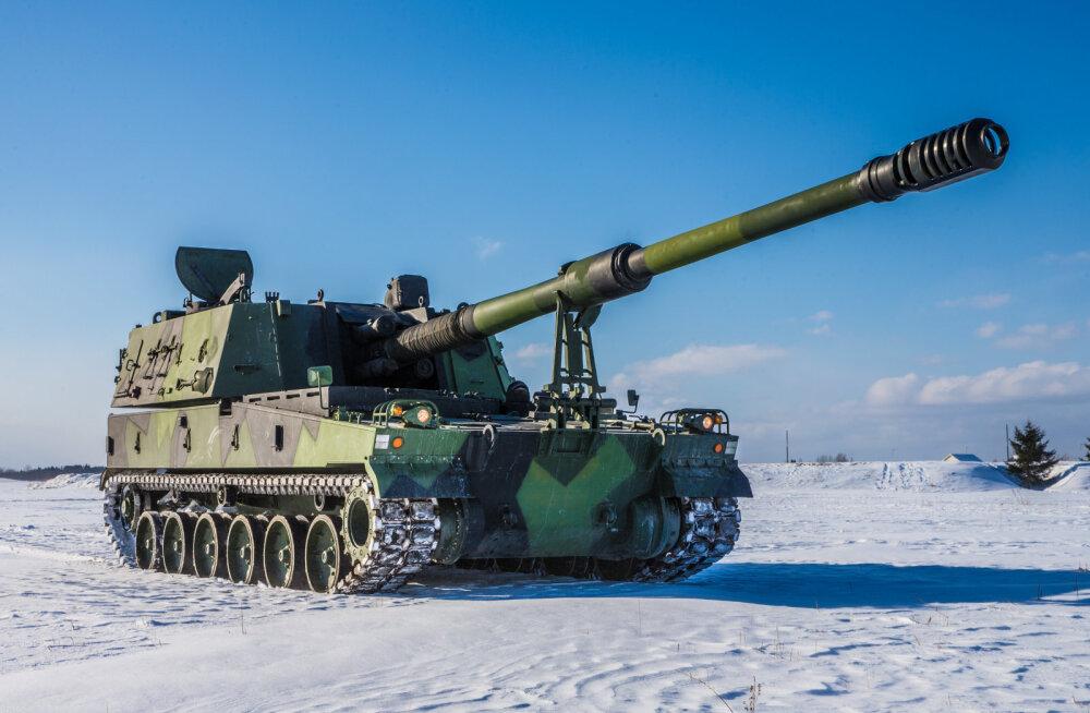 K9 Thunder Eestile ehk suurtükkide kõuemürin läheneb