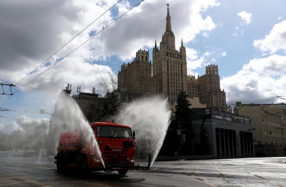 Koroonapuhang võimutseb Venemaal ja ennekõike Moskvas: pealinnas rakendatakse nüüd liikumisel erilubasid