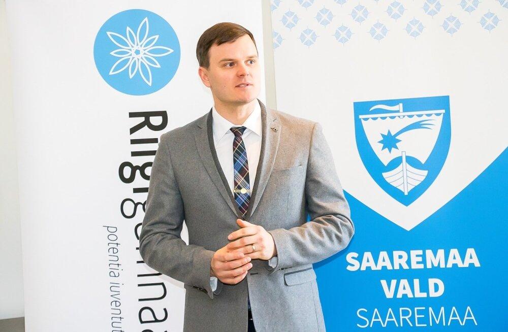Saaremaa vallavanem Madis Kallas