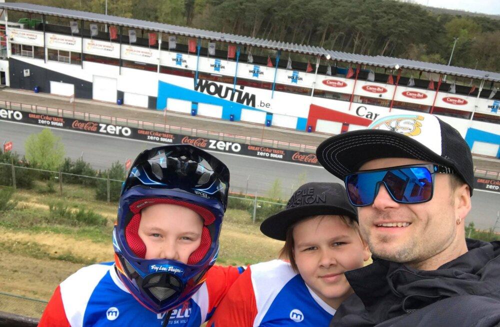 Eesti BMX krossipoisid tegid Euroopas korralikke tulemusi