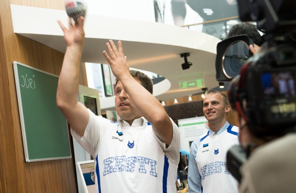 Korvpalli EMi Eesti fännimaja esitlus