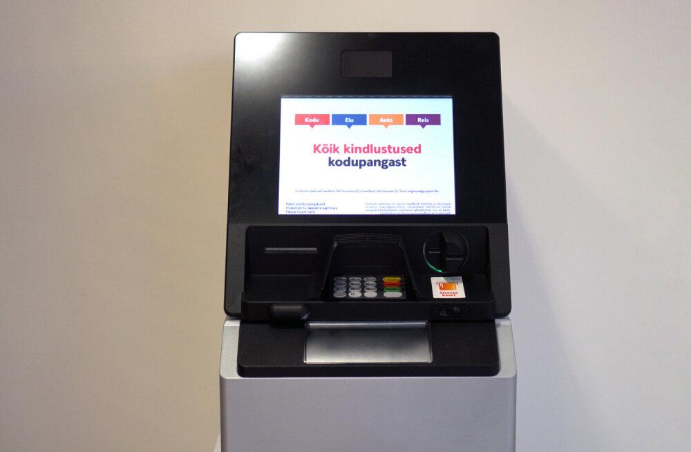 Swedbanki uued pangaautomaadid