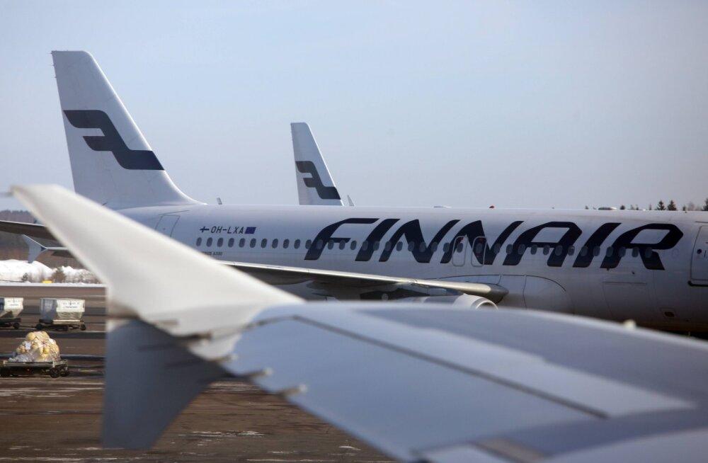 Finnair tühistab koroonaviiruse tõttu lennud Hiinasse talveperioodi lõpuni