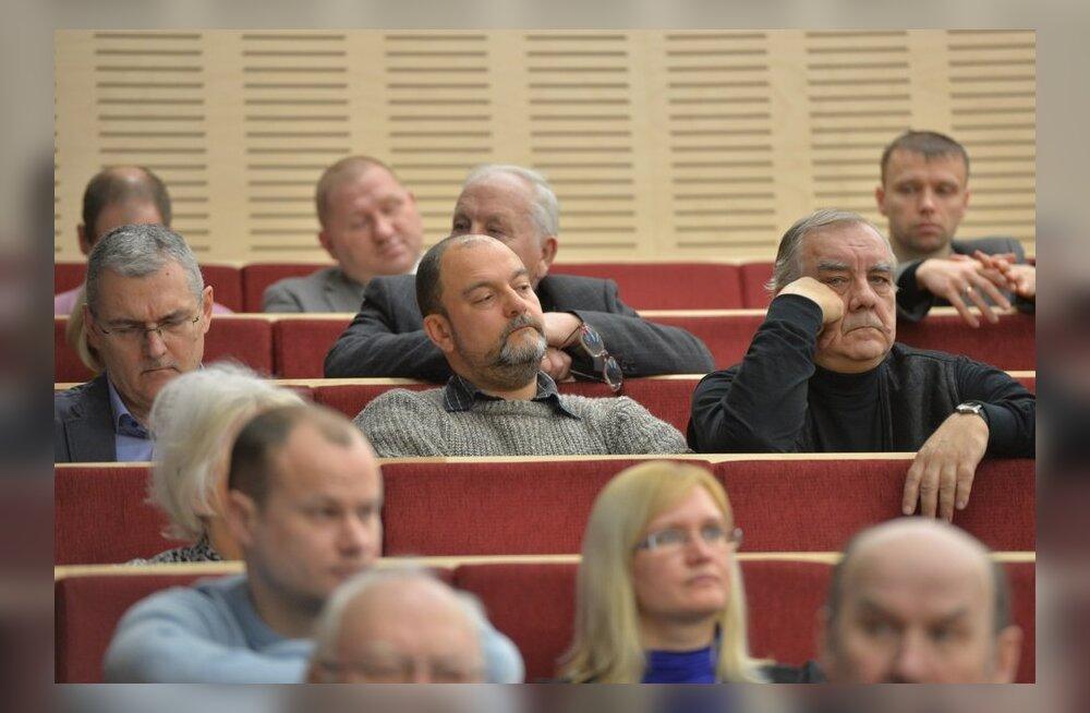 Mihhail Stalnuhhin täna Keskerakonna volikogul
