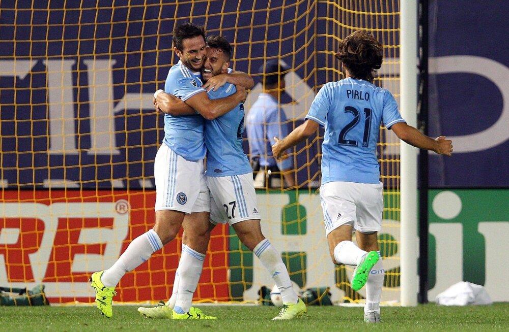 Frank Lampard, Andrea Pirlo
