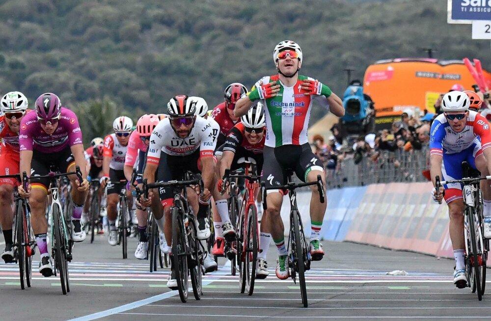 Elia Viviani arvab, et on Giro etapi võitnud