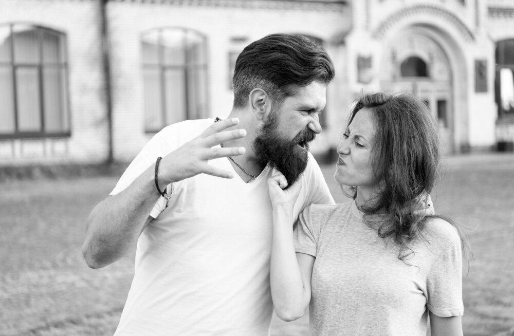 Vägivaldse naise abikaasa: kui ta vihastab, võib ta näiteks lükata, kõrvakiile anda või kas või õllepurgiga visata
