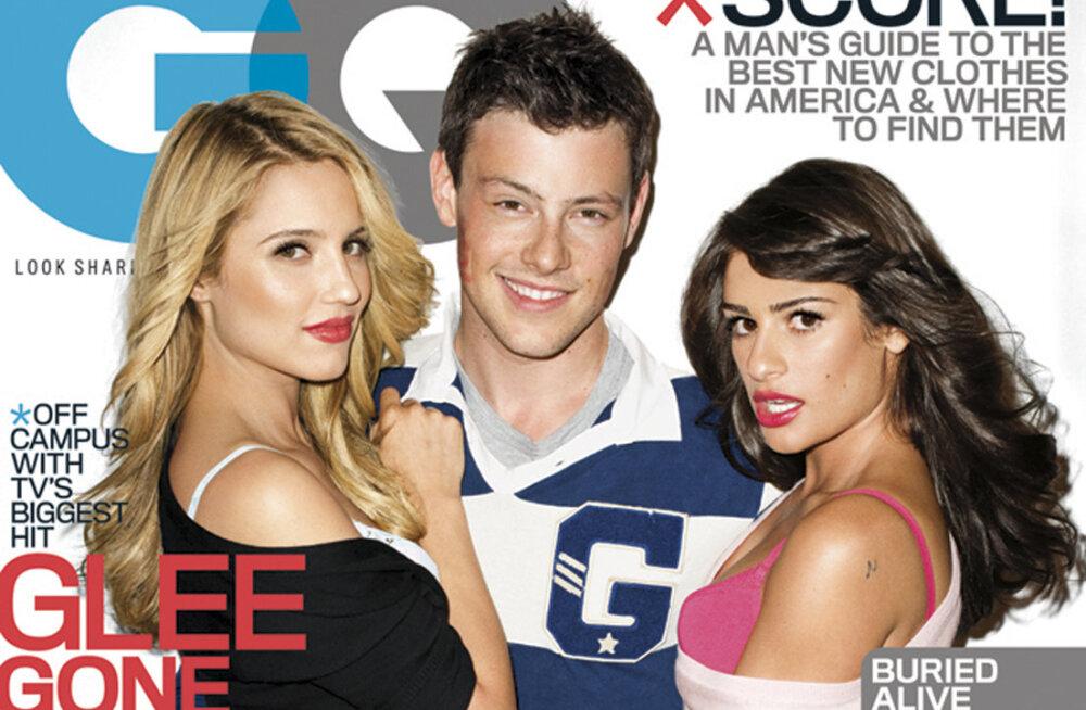 """Surm, vangla ja alastifotod: noortesarja """"Glee"""" osatäitjate tumedad saladused"""