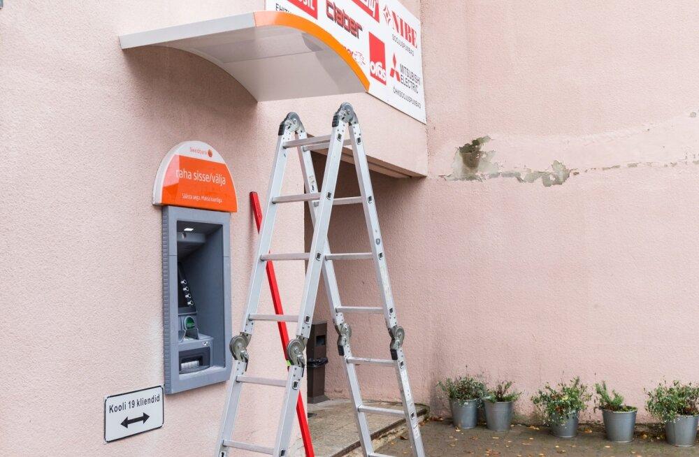 Räpina pangaautomaadi ümbertõstmine