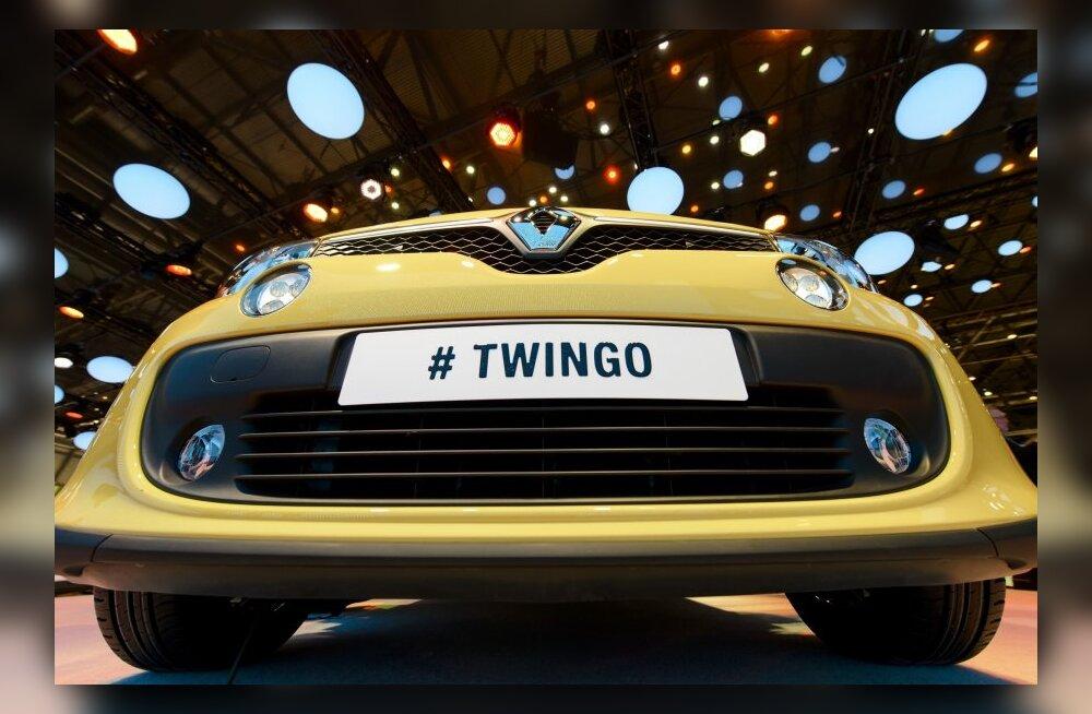 Uue Twingo saabumise eel: Renault' väikeautod läbi aegade