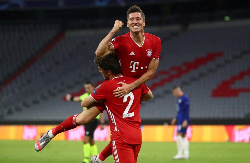 Robert Lewandowski on sel hooajal löönud Meistrite liigas juba 13 väravat. Kas ta tassib Bayerni nüüd klubi ajaloo kuuenda Meistrite liiga trofeeni?