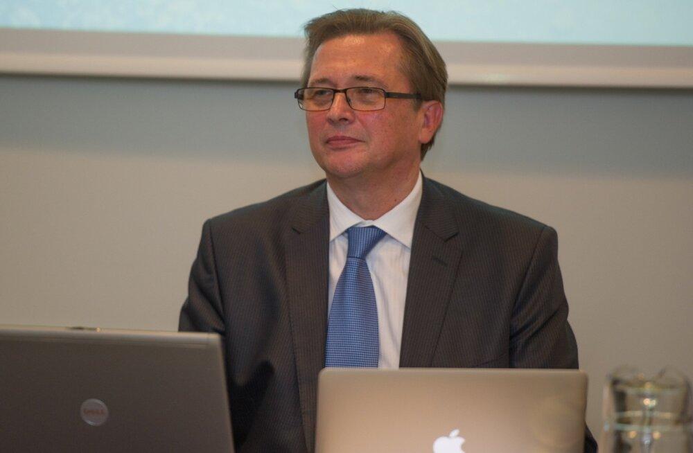 Hallar Meybaum: karta on, et põlevkivisektor võidakse visata rohepesuveega välja