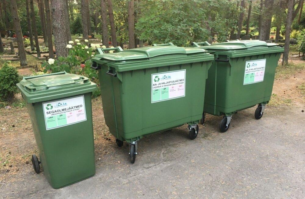 Tallinn asub kaasajastama kalmistute jäätmemajandust