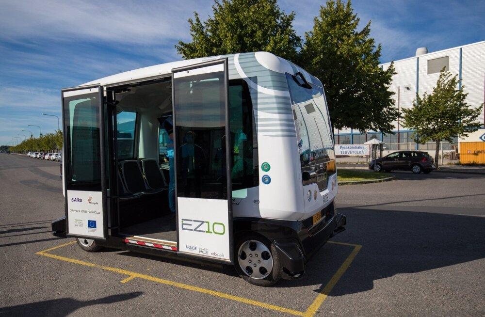 В Таллинне появятся беспилотные автобусы