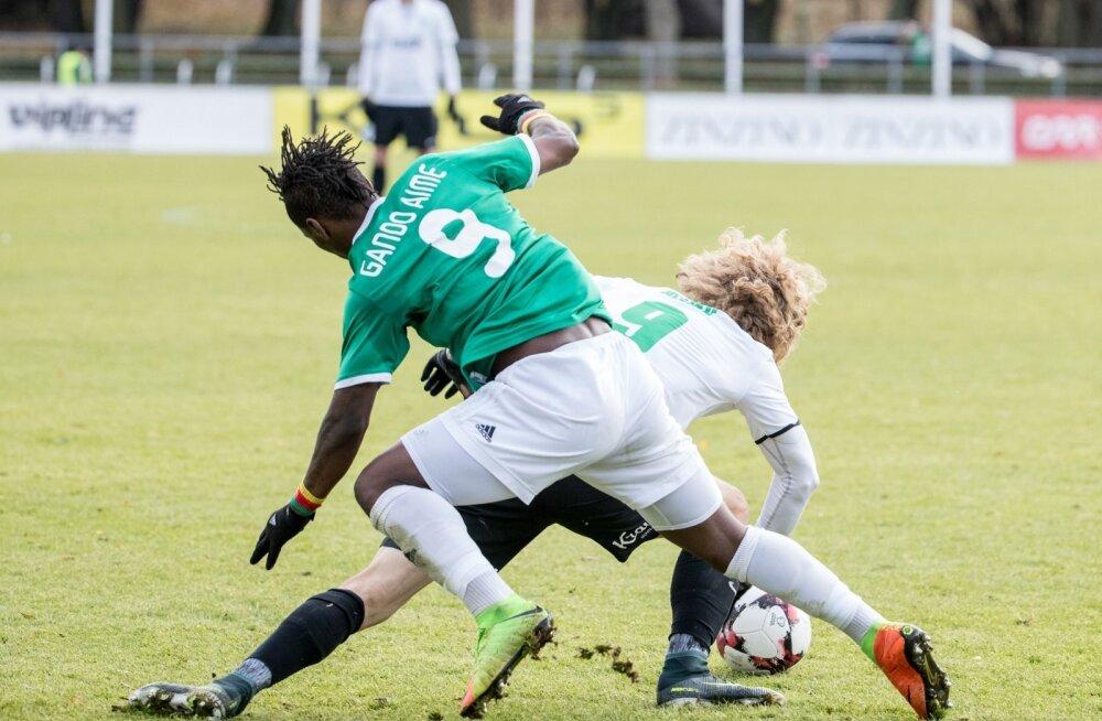 FC Flora vs FC Tallinna Levadia, 04.11.2017