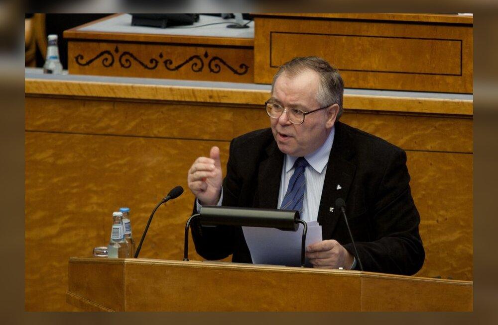 Keskerakonna fraktsioon: vabadusvõitlejaid tunnustav dokument ei esinda läänelikku demokraatiat.