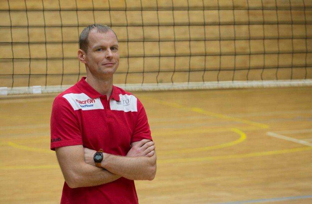Naiste võrkpallikoondise juhendaja Marko Mett