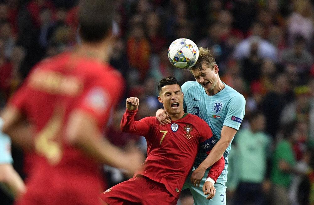 Hollandi tähtmängija: Ronaldo palus, et ma Juventusega liituksin