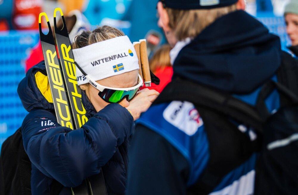 Stina Nilssoni jaoks jäi Tour de Ski pooleli.