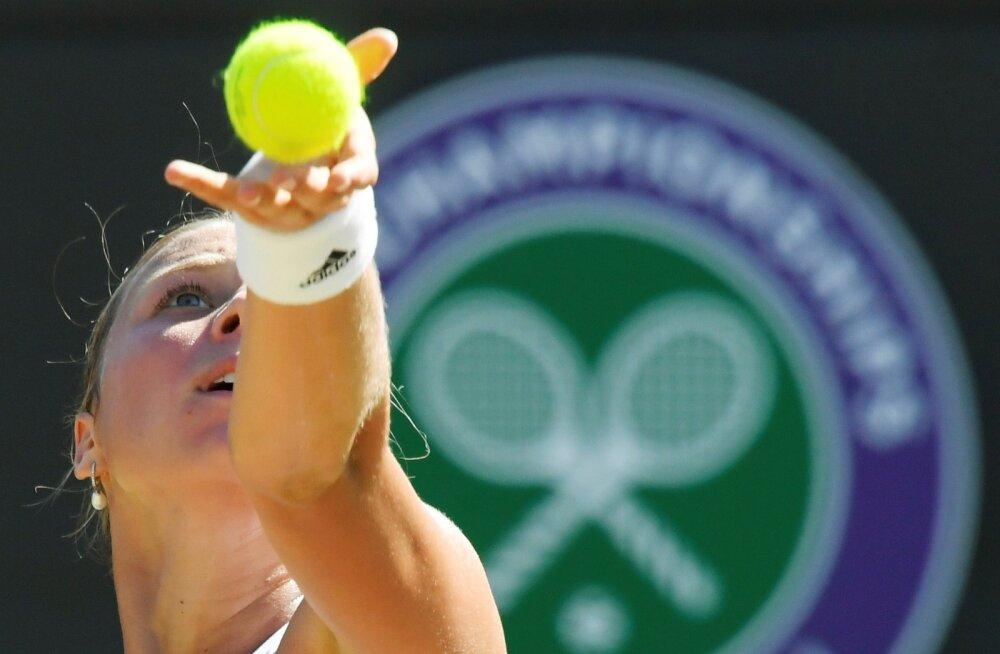 Anett Kontaveit veel Wimbledoni teisele nädalale asja polnud.