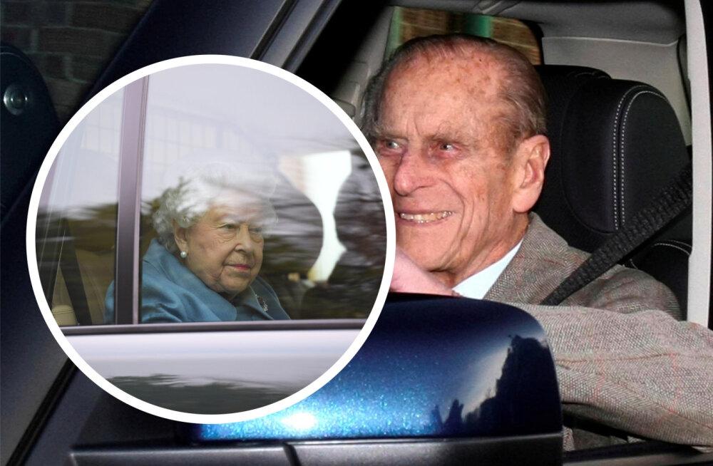 Prints Philipi avariiauto paljastab skandaalse üllatuse! Britid vihased: nad arvavad, et on seadusest kõrgemal