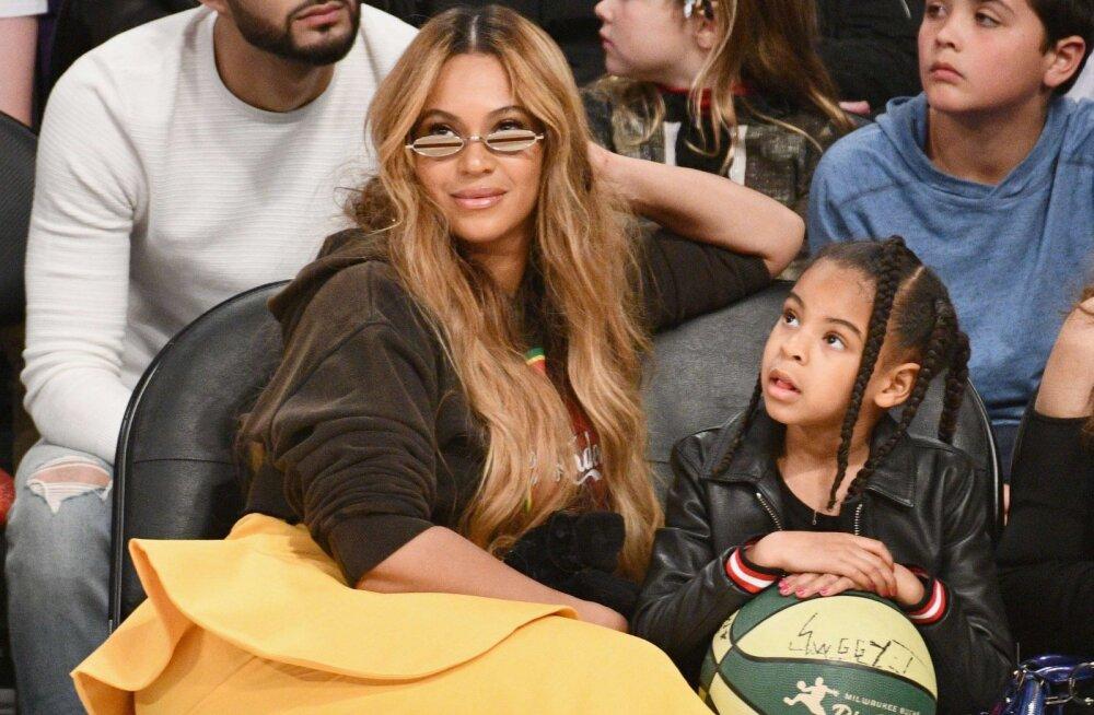 Muljetavaldav! Beyoncé kõigest kaheksa-aastane tütar on nomineeritud suurtegijate kõrval ihaldusväärsele auhinnale