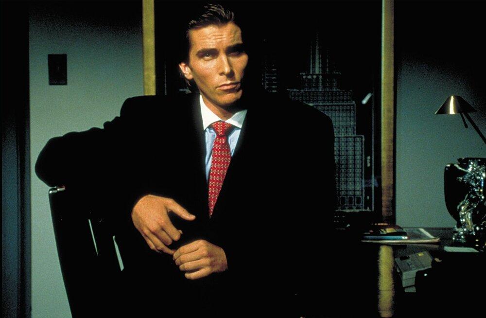 """Filmis """"Ameerika psühho"""" teeb läbimurderolli hilisem Hollywoodi superstaar Christian Bale."""