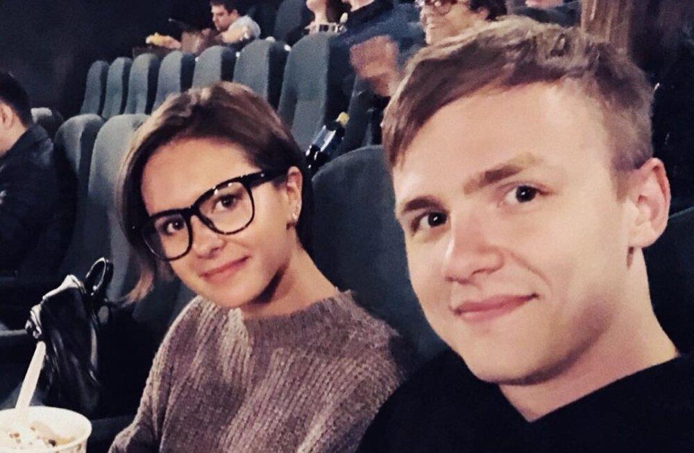 Natalja Zabijako ja Danil Grinkin