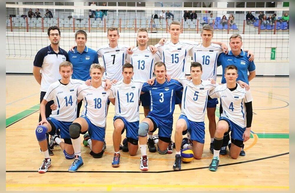 Eesti U19 võrkpallikoondis