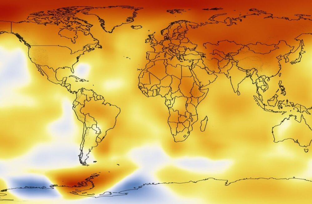 NASA pikaajalised kliima soojenemise andmed on olnud hirmutavalt täpsed