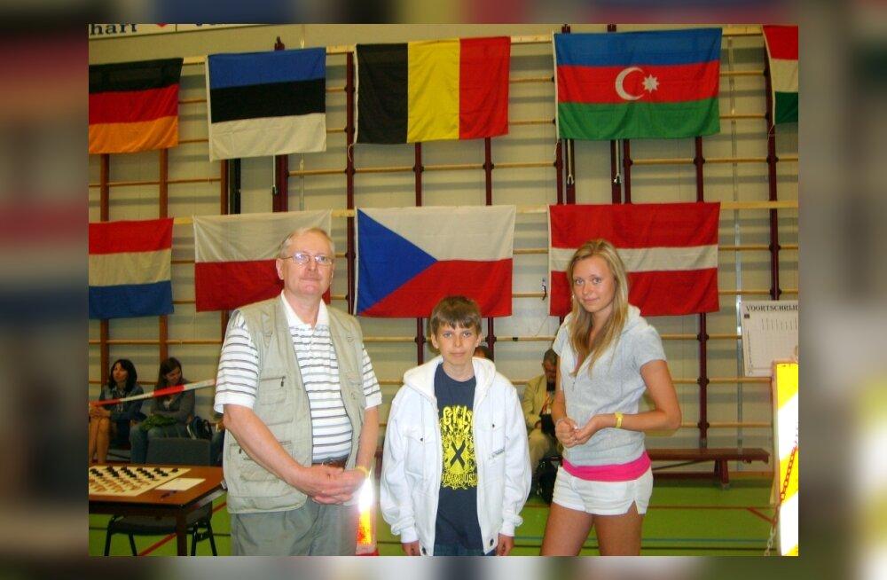 Hendrik Tamm võistles Belgias ainsana Eesti värvides