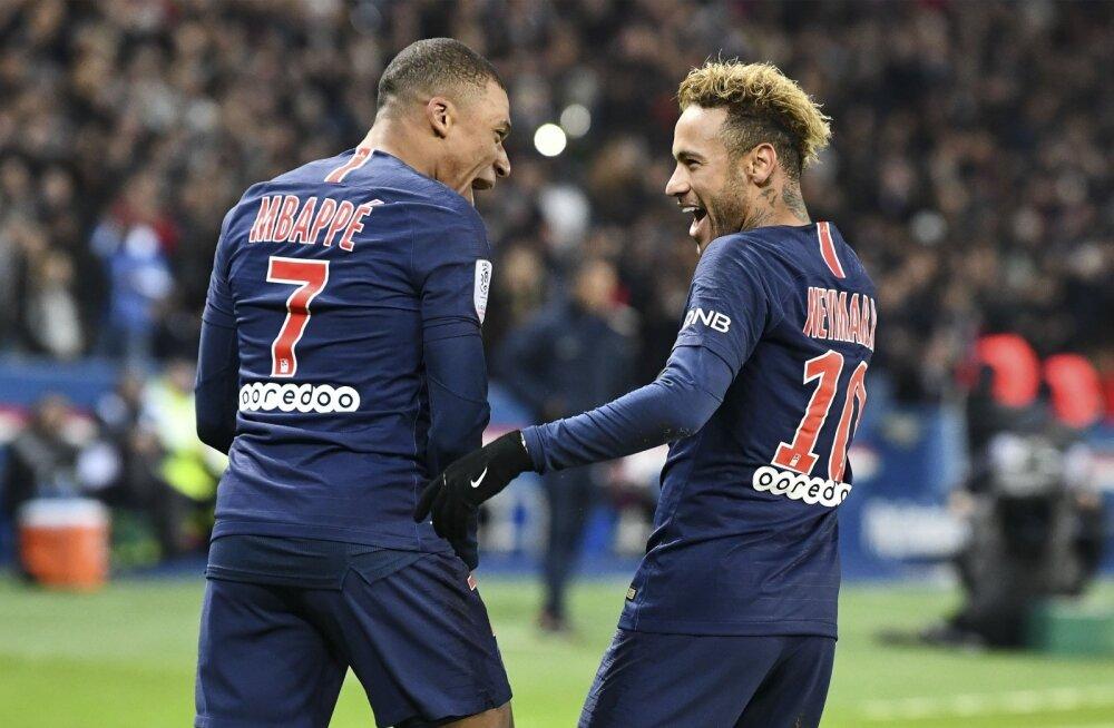Kylian Mbappe ja Neymar peavad hakkama paugutama, kui PSG tahab Meistrite liigas ellu jääda.