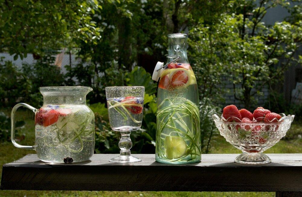 Turundustrikk või terviseturgutaja? Kui palju vitamiinivee joomisest tegelikult kasu on?