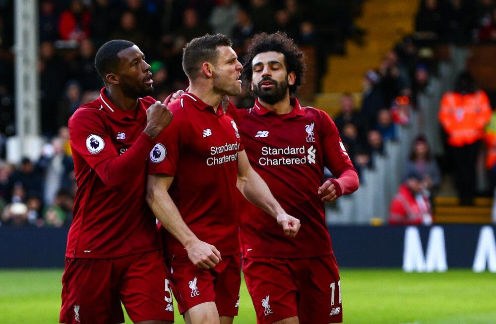 VIDEO | Liverpool tõusis tabeliliidriks, Chelsea kaotas väärtuslikke punkte