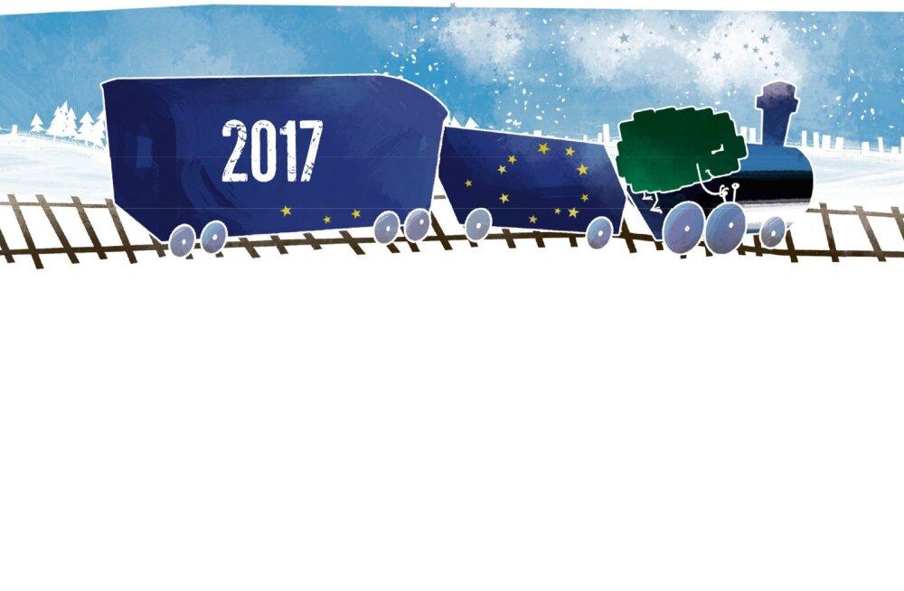 Sündmused, mis meid 2017. aastal rõõmustasid või kurvastasid
