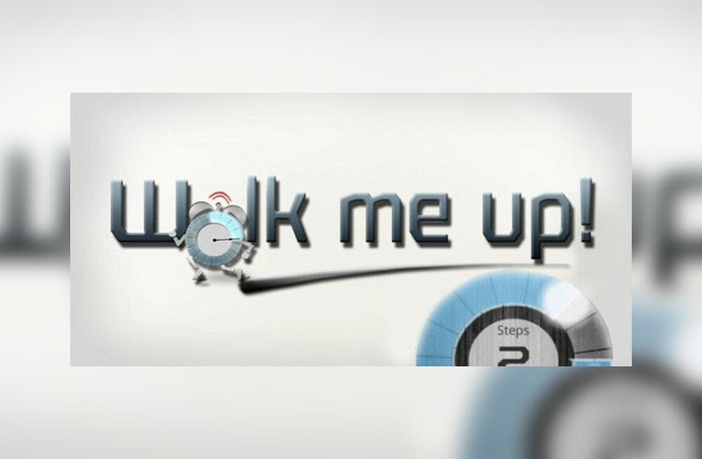 Androidi nutirakendus Walk Me Up! Alarm Clock – maratoniga unest võitu!